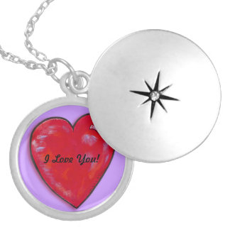 Necklace- I Love You Heart