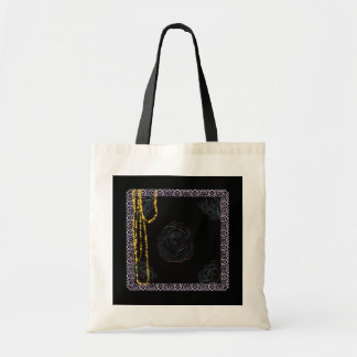 """Necklace in a Pocket"" tote bag.*"