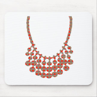 Necklace JEWEL Decorative ART from Navin Joshi Mouse Pad