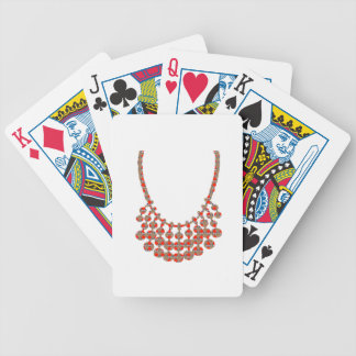 NECKLACE Jewel Graphic on GIFTS by NAVIN JOSHI Bicycle Playing Cards