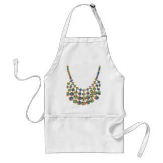 NECKLACE Jewel Home Decorations: by NAVIN JOSHI Adult Apron