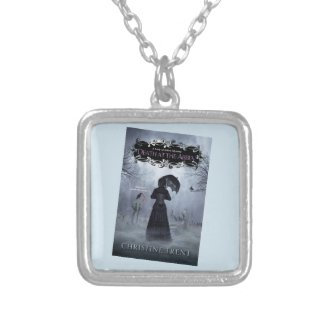 Necklace, Lady of Ashes, Death at Abbey Silver Plated Necklace