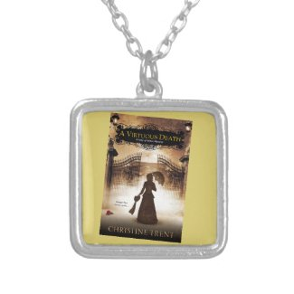 Necklace, Lady of Ashes, Virtuous Death Silver Plated Necklace