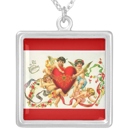 Necklace-Love Art-19 Silver Plated Necklace