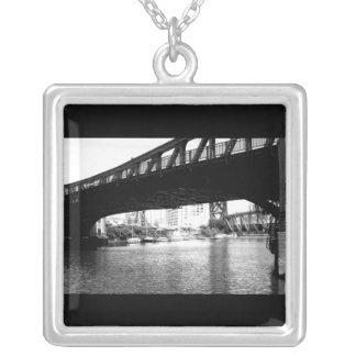 Necklace-Love Art House-Bridge 2 Silver Plated Necklace