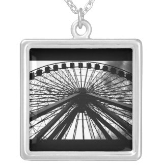Necklace-Love Art House-Carnival 2 Silver Plated Necklace