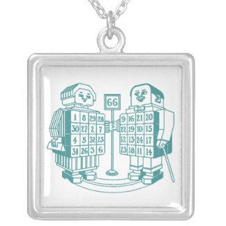 Necklace Magic Squares Square 66 robots mathematic