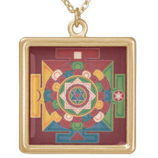 Necklace - Mandala of the 5 Earth Elements