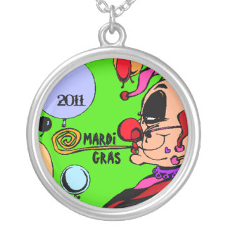 Necklace Mardi Gras Party Harlequin Customize Year