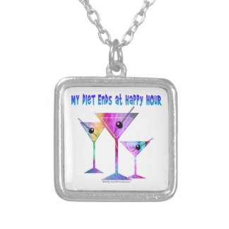 NECKLACE - MY DIET ENDS AT HAPPY HOUR