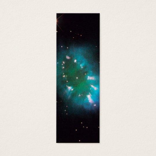 Necklace Nebula (Hubble Telescope) Mini Business Card