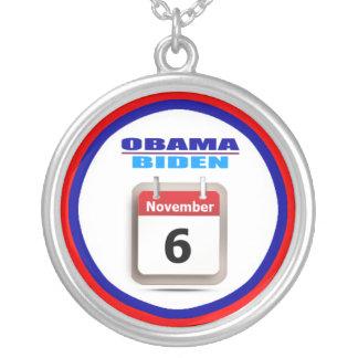 Necklace - Obama/Biden - Calendar
