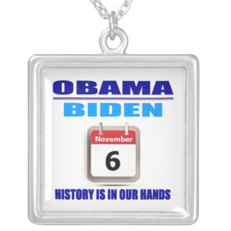 Necklace - Obama/Biden - History Is In Our Hands