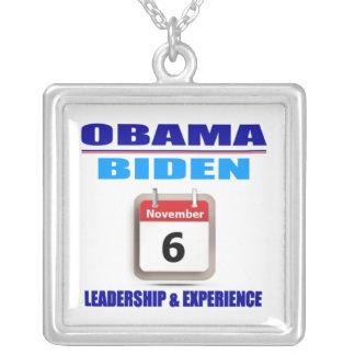 Necklace - Obama/Biden - Leadership & Experience