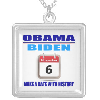 Necklace - Obama/Biden - Make A Date With History