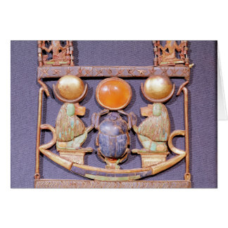 Necklace of Rising Sun, from tomb of Greeting Card
