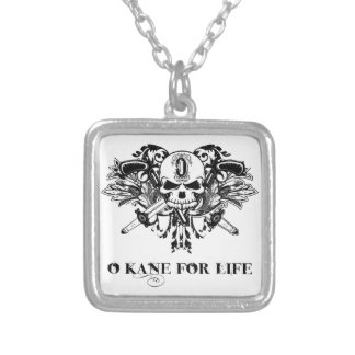 Necklace: O'Kane for Life Square Pendant Necklace