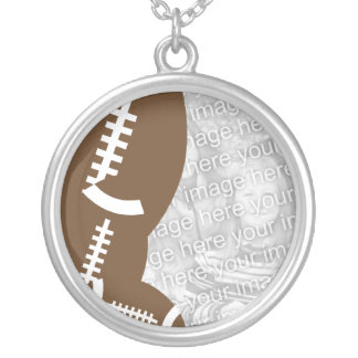Necklace Photo Template - Football