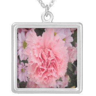 Necklace Pink Carnation Beauty