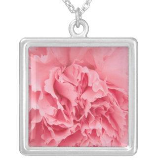 Necklace Pink Carnation Close Up