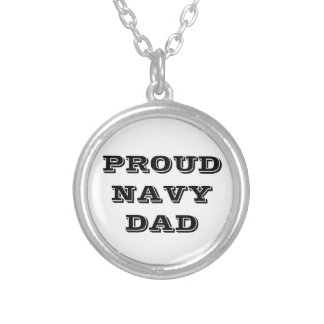 Necklace Proud Navy Dad