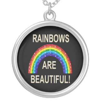 Necklace Rainbows Are Beautiful