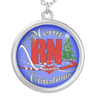 NECKLACE - RN - MERRY CHRISTMAS REGISTERED NURSE