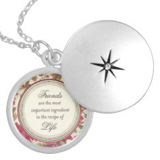 Necklace, Silver Or Gold Silver Plated Necklace at Zazzle