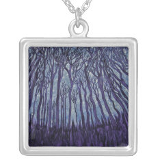 Necklace -Stardust Forest at Zazzle
