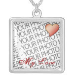 """Necklace Sterling Silver Custom Color Printing 18"""""""