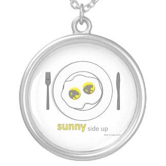 necklace - sunny side up