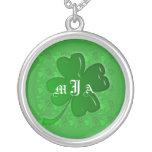 Necklace Template - Lucky Shamrock