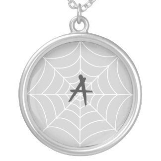 Necklace Template - Spiderweb