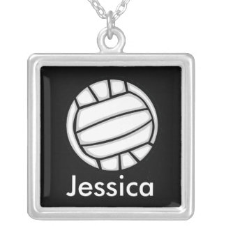 Necklace Template - Volleyball