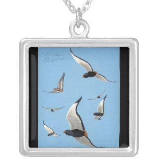 Necklace-Vintage Chicago Art-Abyssinian Birds 13