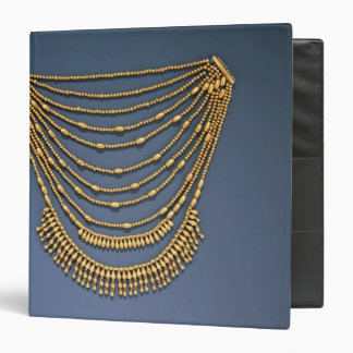 Necklace with bells 3 ring binder