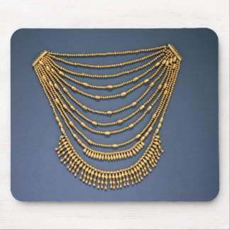 Necklace with bells mouse pad