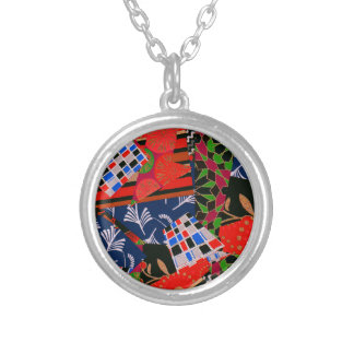 Necklace with Brilliant Collage