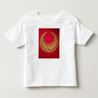 Necklace with pastoral scenes toddler t-shirt
