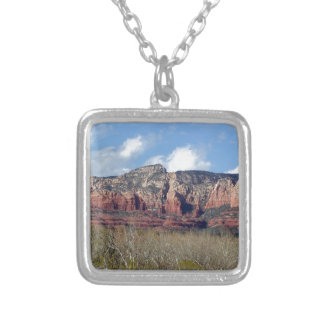 necklace with photo of Arizona red rocks