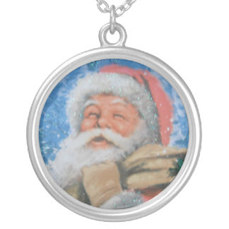 Necklace With Santa
