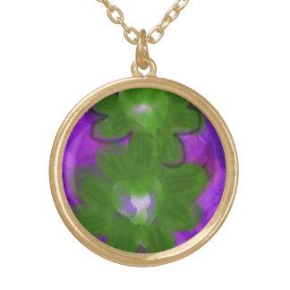 "Necklace with ""Shamrock Design"""
