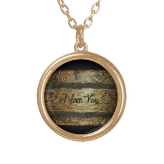 NECKLACE WITH THE WORDS I LOVE YOU..