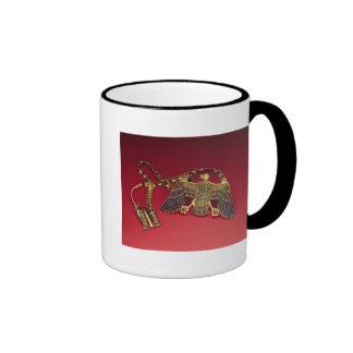 Necklace with vulture pendant ringer mug