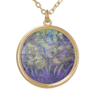 """Necklace with """"Wedding Tree Pastel Design"""""""