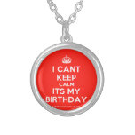 [Crown] i cant keep calm its my birthday  Necklaces