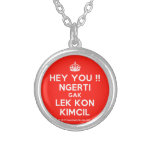 [Crown] hey you !! ngerti gak lek kon kimcil  Necklaces
