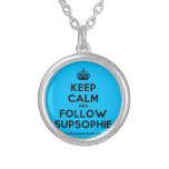 [Crown] keep calm and follow supsophie  Necklaces