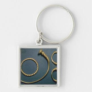 Necklet and bracelets from Waldalgesheim Keychain