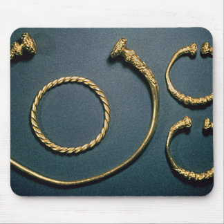 Necklet and bracelets from Waldalgesheim Mouse Pad